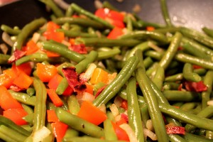 Paula Deen's Fancy Green Beans