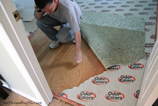 Our Home A Flooring Surprise