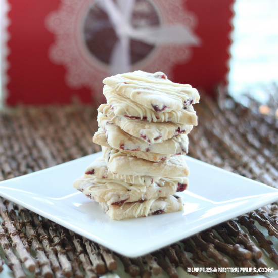 white chocolate cranberry shortbread 5