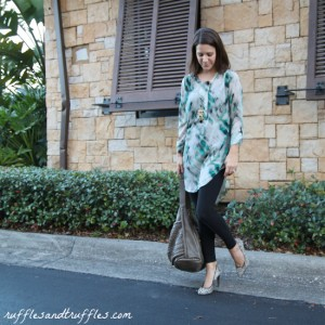 print tunic and leggings 3