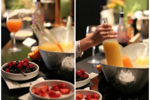 Besa Grill mimosa bar