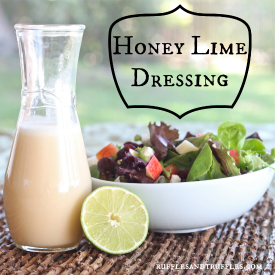Honey Lime Salad Dressing
