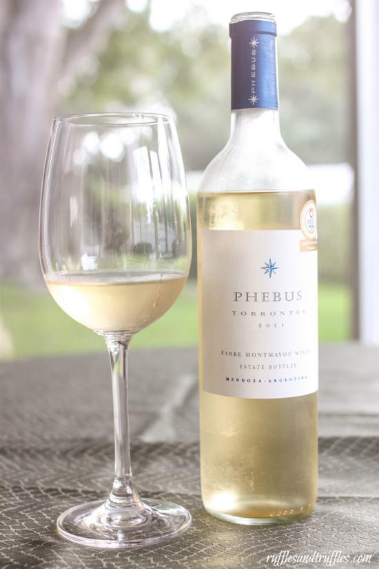 Phebus Torrontes wine