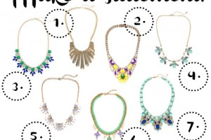 Jeweliq statement necklaces