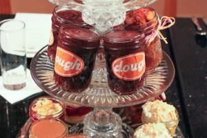 Desserts in Jars at Datz Dough