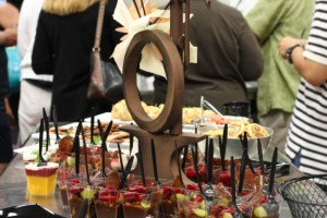 William Dean Chocolates food display