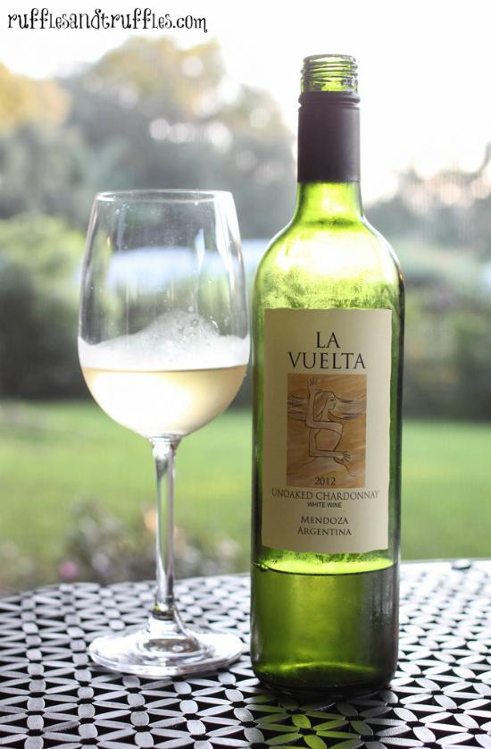 La Vuelta Unoaked Chardonnay