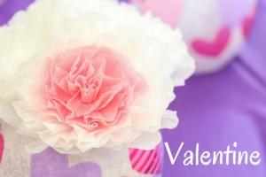 Valentine Heart Vases DIY