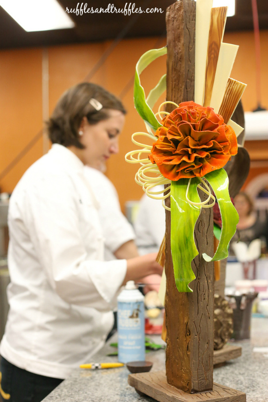 William Dean Chocolate Showpiece night