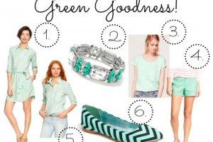 mint green style