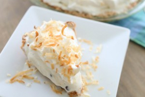 ice cream social coconut macaroon ice cream pie