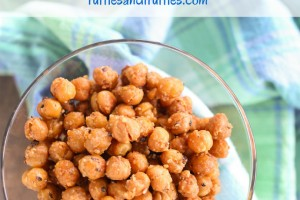 parmesan garlic oven roasted chickpeas
