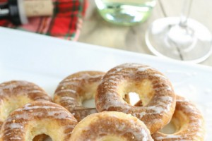 Sour Cream Coffee Cake Donuts