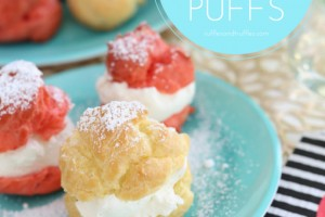 Valentine's Day Cream Puffs