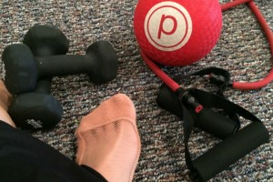 Pure Barre equipment