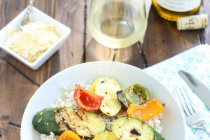 Grilled Vegetable Barley Bowls