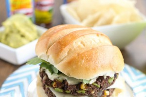 Spicy Black Bean Burgers with Habanero Aioli