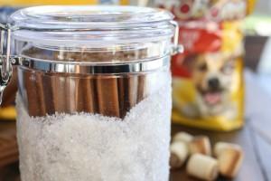 DIY Snowdrift Jars