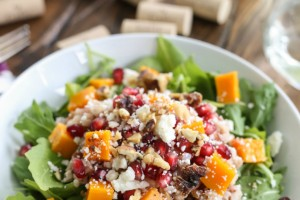 Roasted Squash and Wild Rice Salad