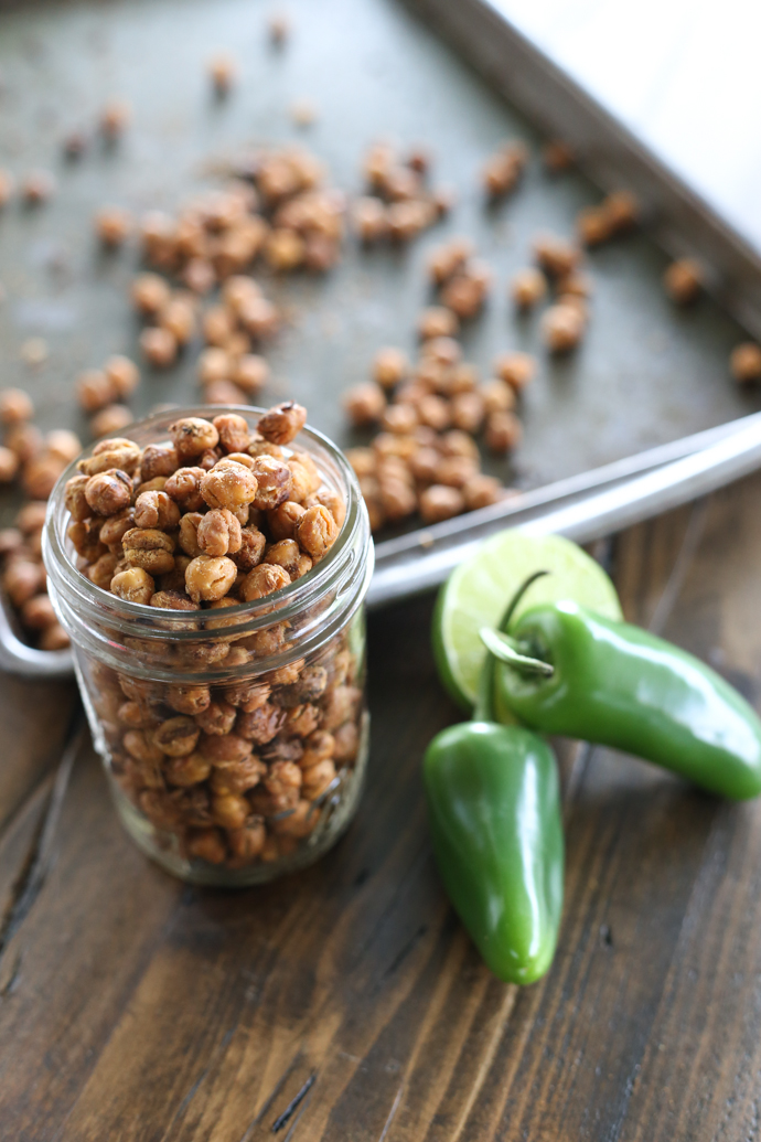 Spicy Jalapeno Chickpeas