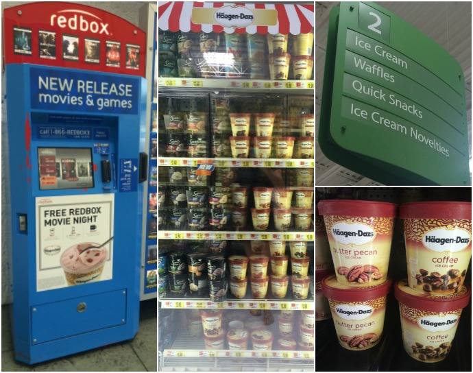 Häagen-Dazs® ice cream and Redbox®