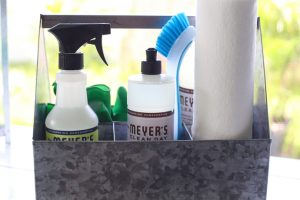 DIY Cleaning Caddy