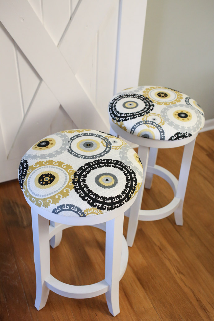 DIY Bar Stool Makeover