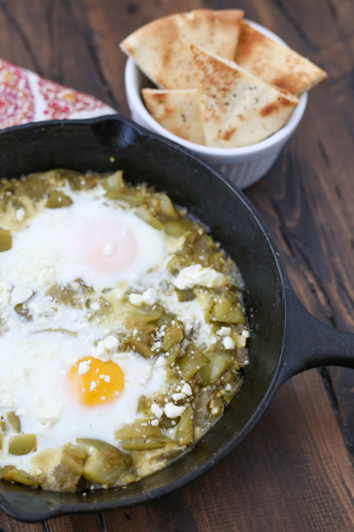 Hatch Chile Shakshuka