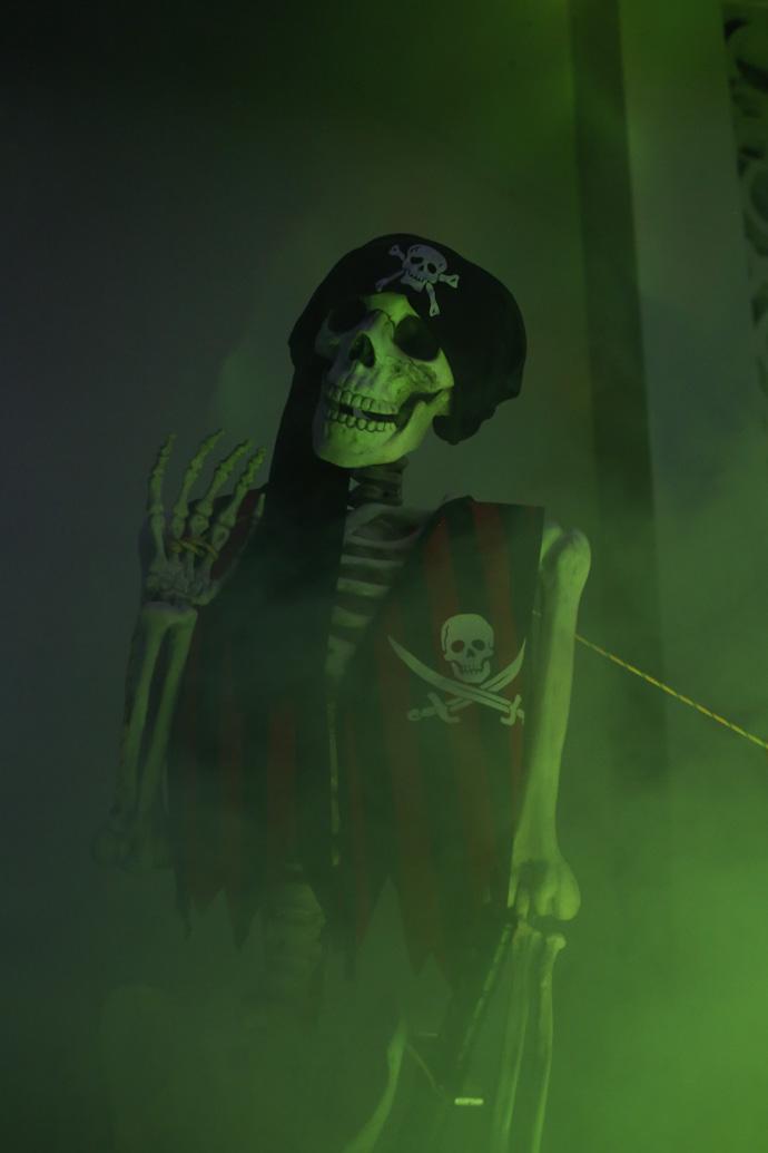 DIY Skeleton Lawn Decorations