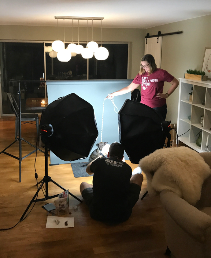 Sherman's In-Home Photo Shoot with AGold Photo