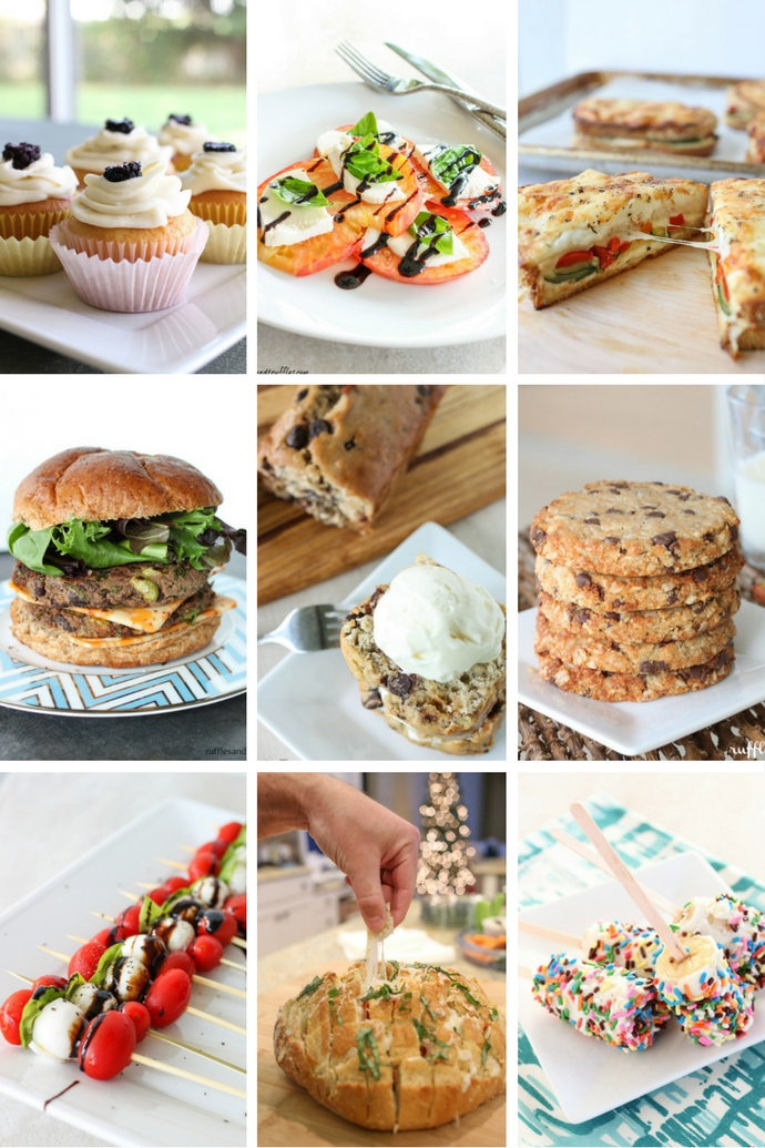 Helpful Homemade Food Collage