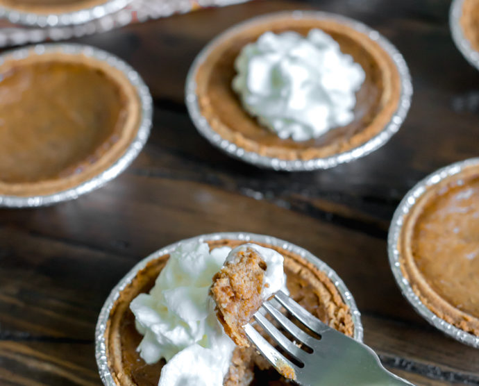 Dairy Free Mini Pumpkin Pies