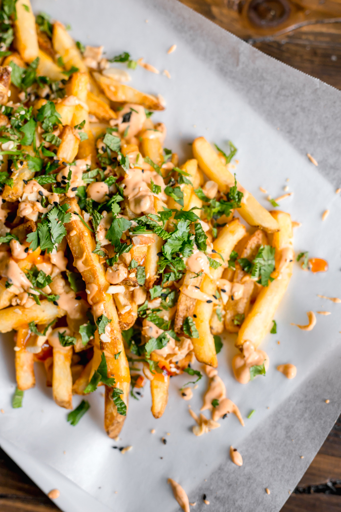Sweet and Spicy Thai Style French Fries